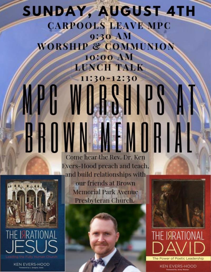 Worship at Brown Memorial