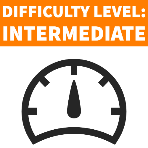 difficulty level intermediate
