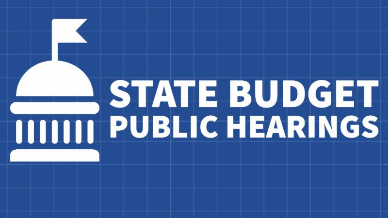 state budget hearings