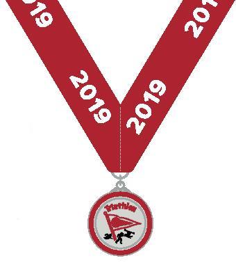 PaBIA Triathlon Medal