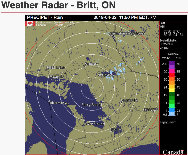Weather Radar CN