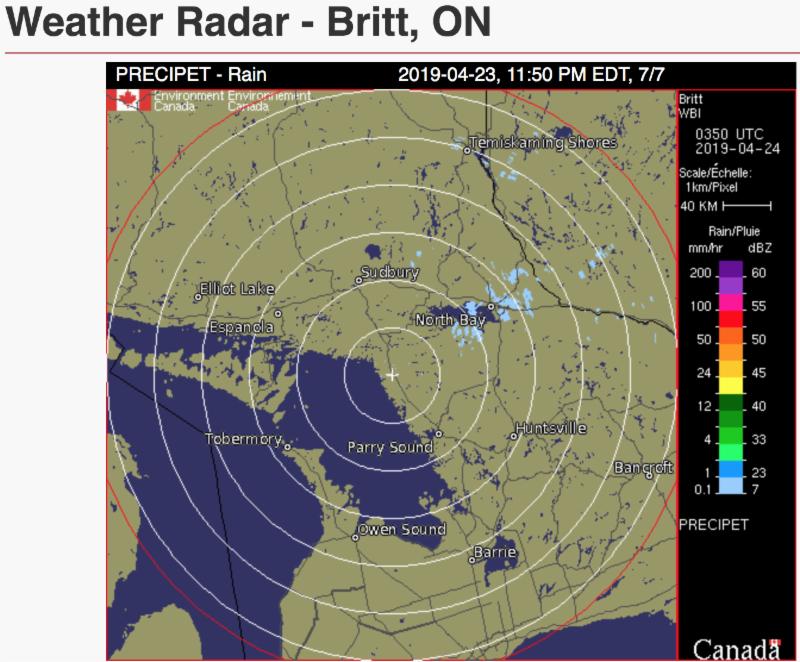 Weather Radar CN