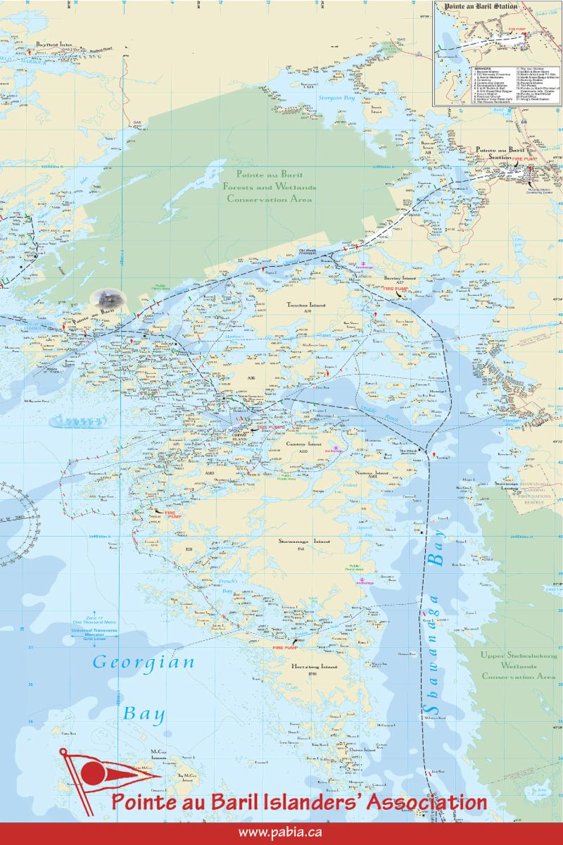 PaBIA Map