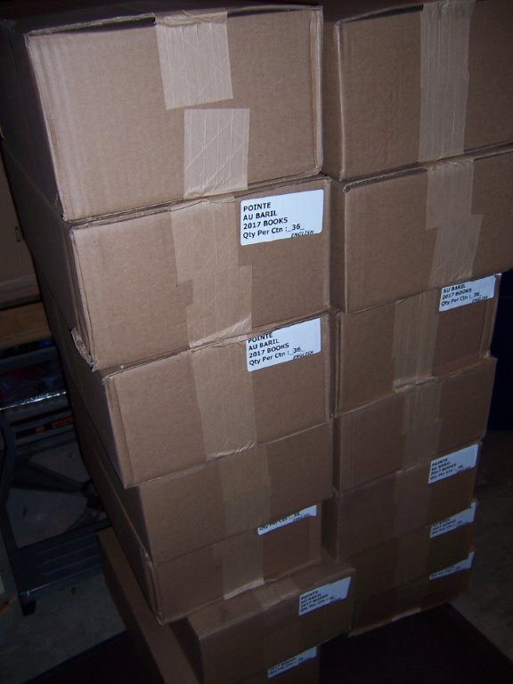 1 Yearbooks delivered to Nancy's