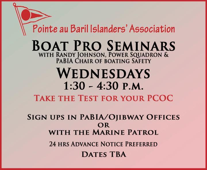 PaBIA Boat Pro Seminar