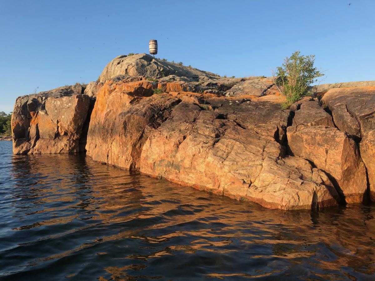 Barrel of Pointe au Baril