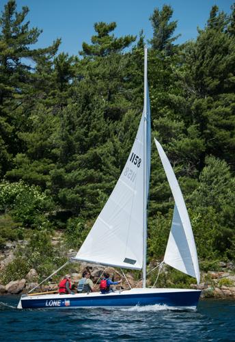 Sailing Flying Scot