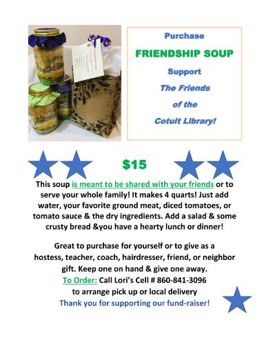Friendship Soup $15