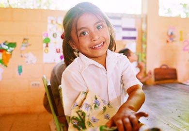 Nicaraguan girl