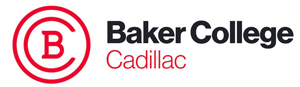 Baker College of Cadillac logo