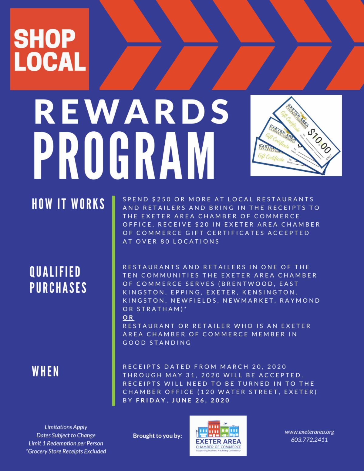 Shop Local Rewards Program