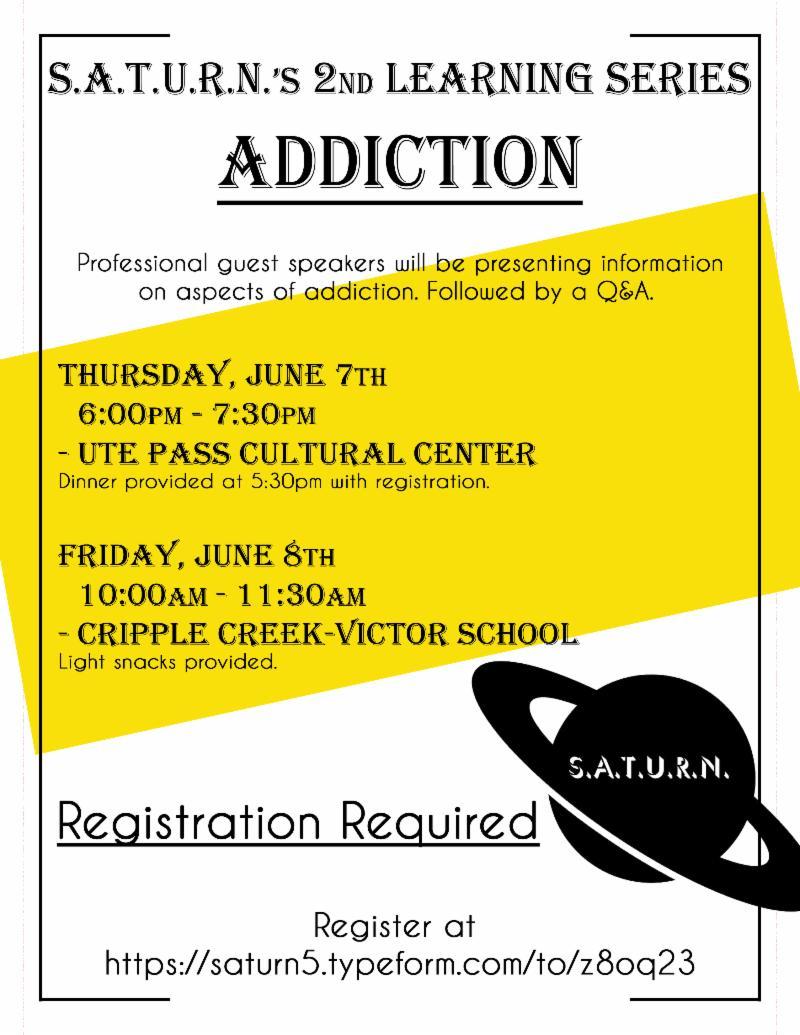 Additiction Flyer