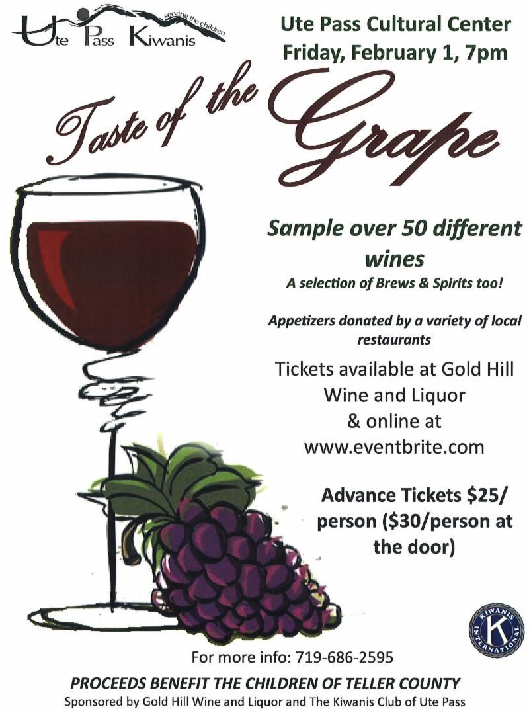 Taste of the Grape