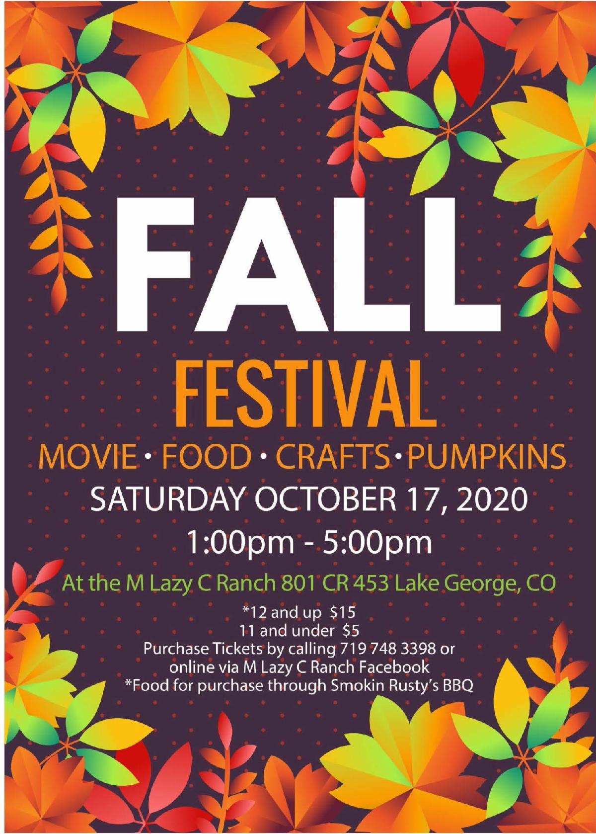 M Lzy C Fall festival
