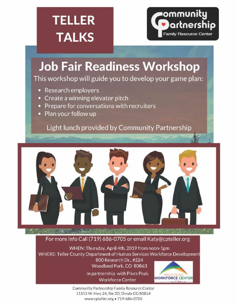 Community Partnership Job Fair Readiness Workshop