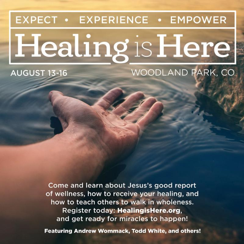Healing is Here at Charis