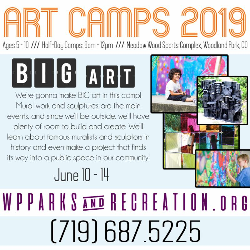 kids art camps