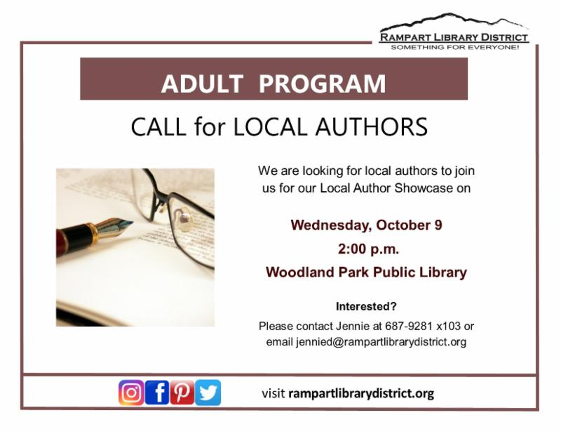 Call for Local Authors