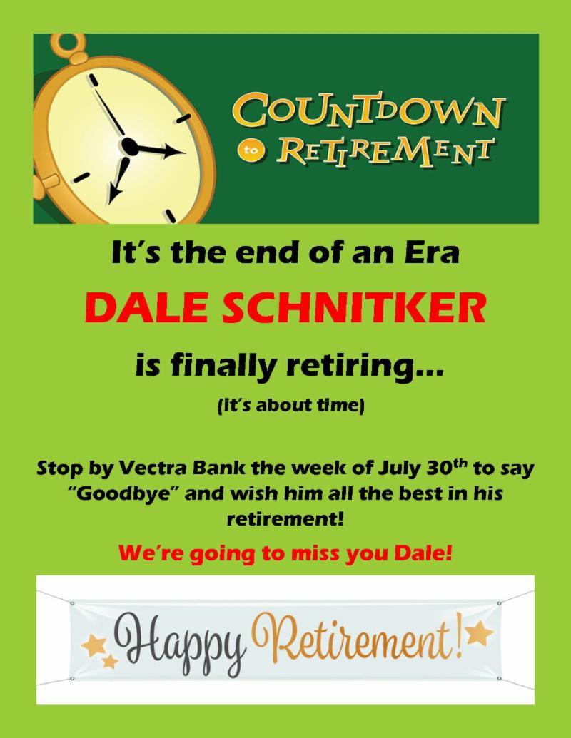 Dale's Retirement