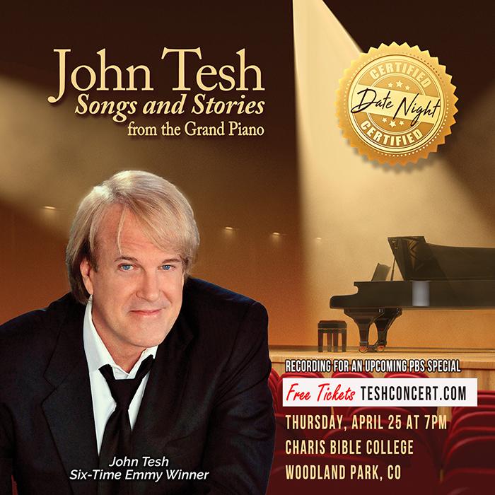 John Tesh Perming at Charis