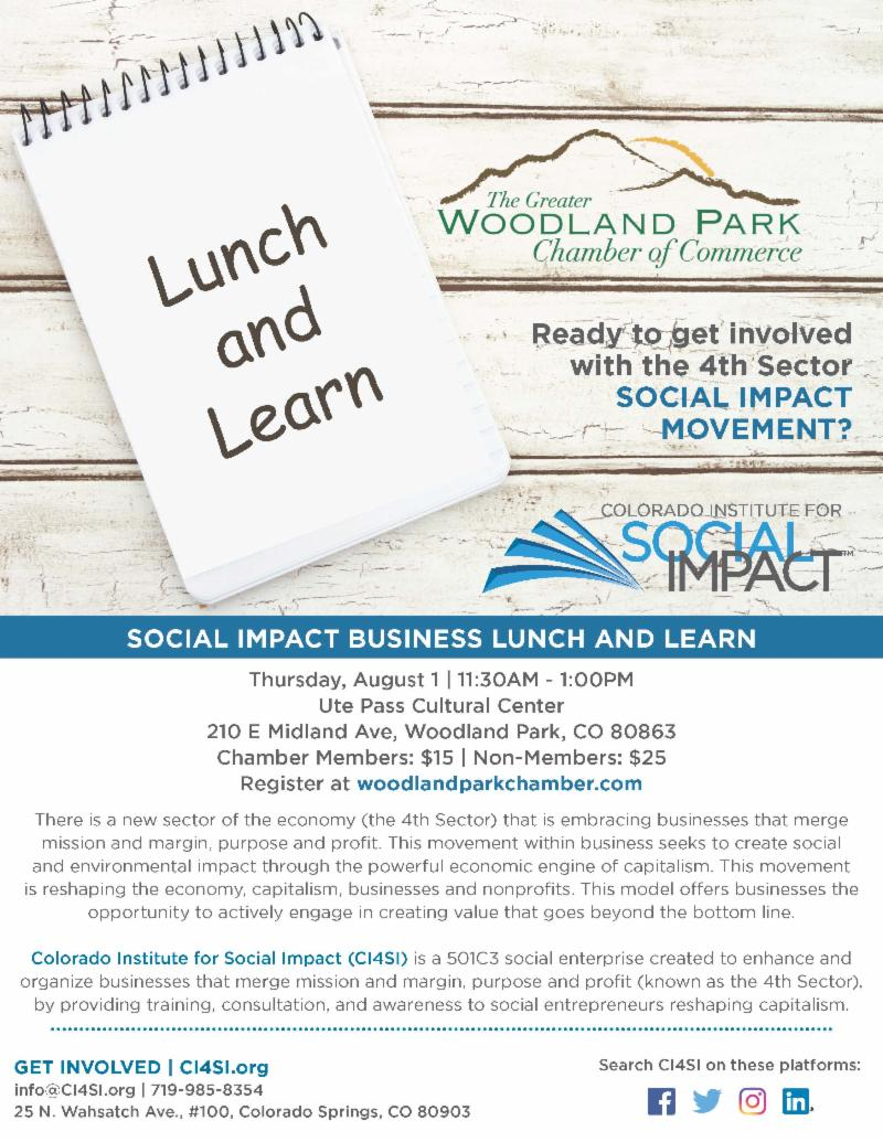 August 2019 Lunch and Learn