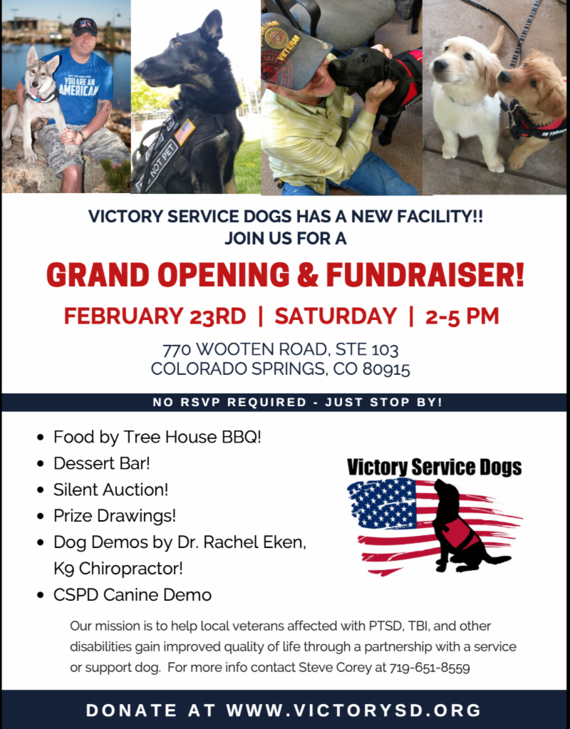 Victory Service Dogs Grand Opening