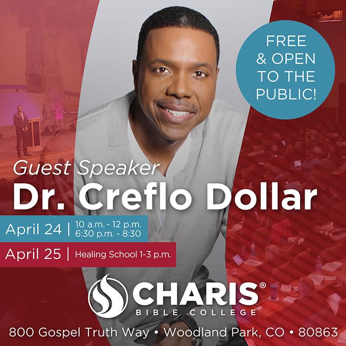 Creflo Dollar to Speak at Charis