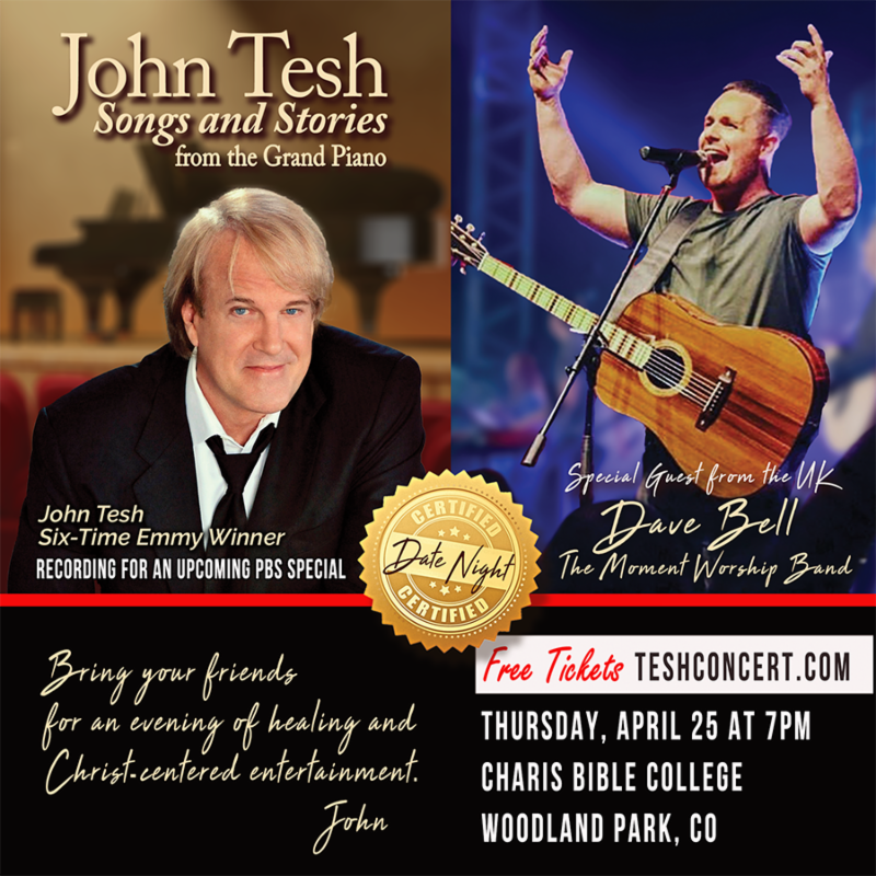 John Tesh at Charis