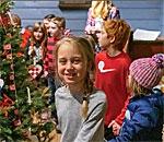 Vesterheim Christmas scene.