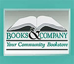 Books & Company Bookstore logo.