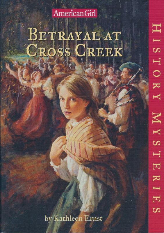 Betrayal at Cross Creek book cover.