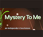 Mystery To Me bookstore logo.