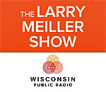 The Larry Meiller Show logo.