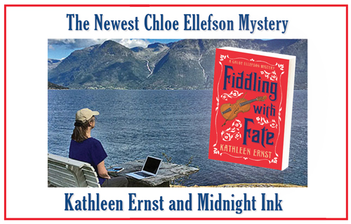 Fiddling With Fate ad in Mystery Scene Magazine September 2019