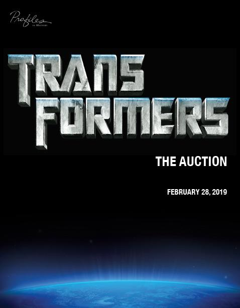 Profiles In History Transformers The Auction Catalog Is Online Now