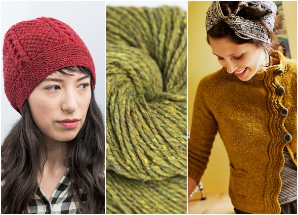 Brooklyn Tweed Furrow Hat & Levenwick Cardigan