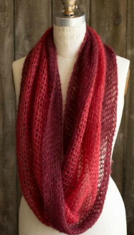 Crocheted Mobius Cowl