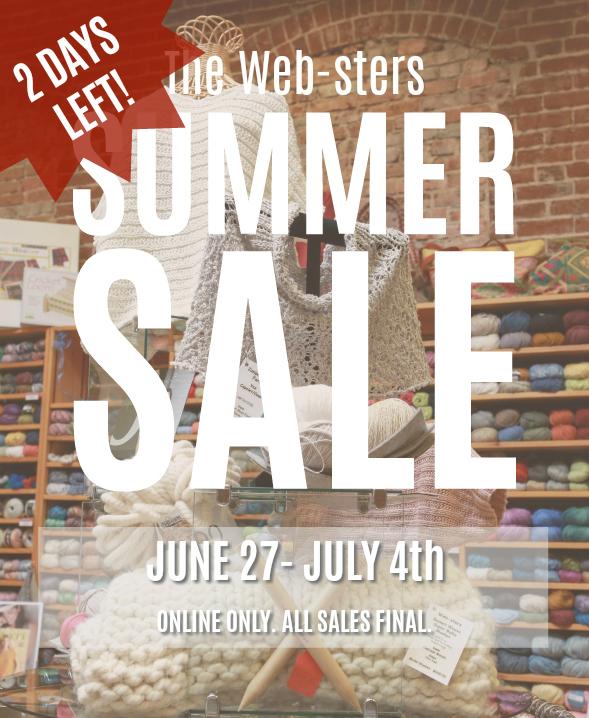 2 Days Left Online Summer Sale