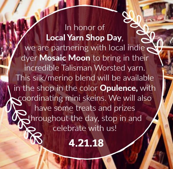 Local Yarn Shop Day