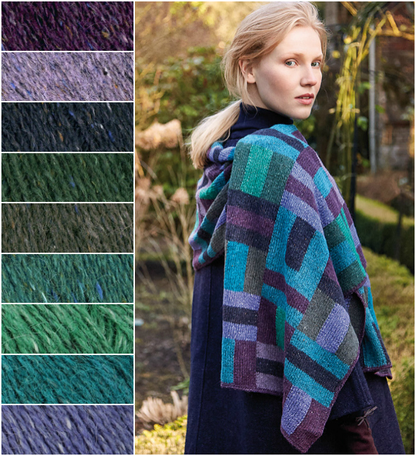 Rowan Cool Weave Wrap Kit