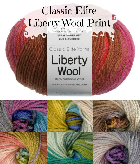Classic Elite Liberty Wool Print Yarn