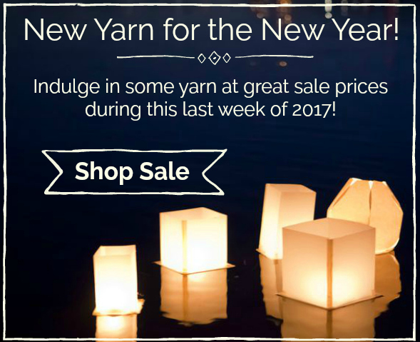 New Yarn for the New Year!