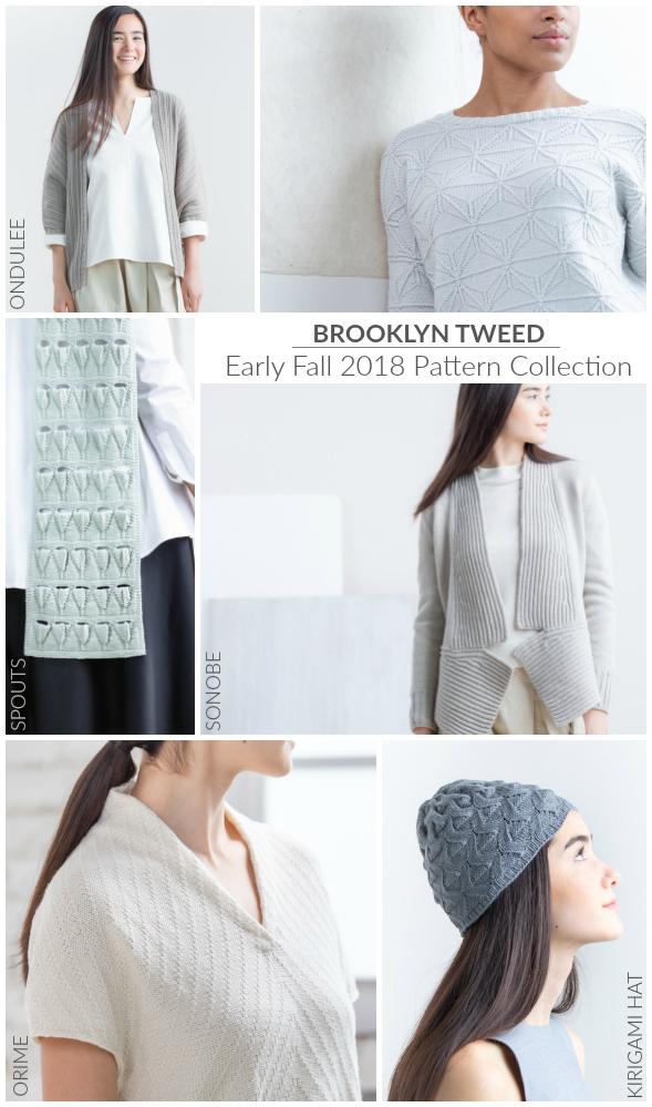 Brooklyn Tweed Fall 2018 Collection