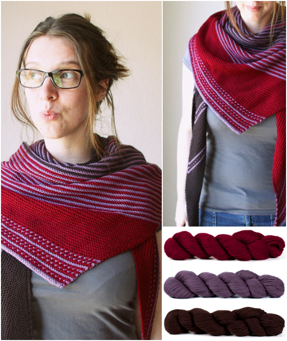 Drachenfels Shawl Kit