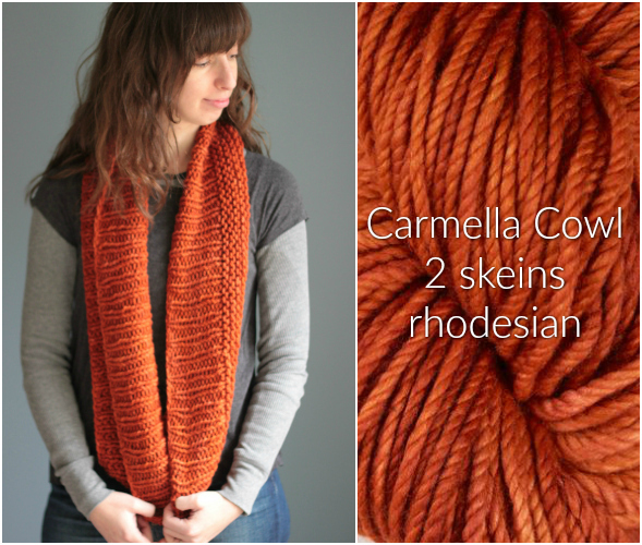 The Brown Stitch Carmella Cowl