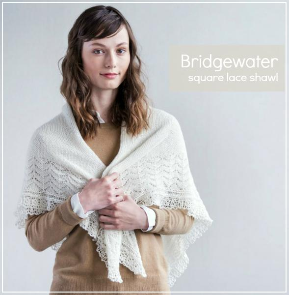 Brooklyn Tweed Bridgewater Shawl