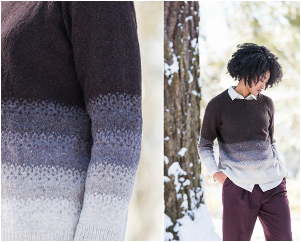 Brooklyn Tweed Townes Colorwork Pullover