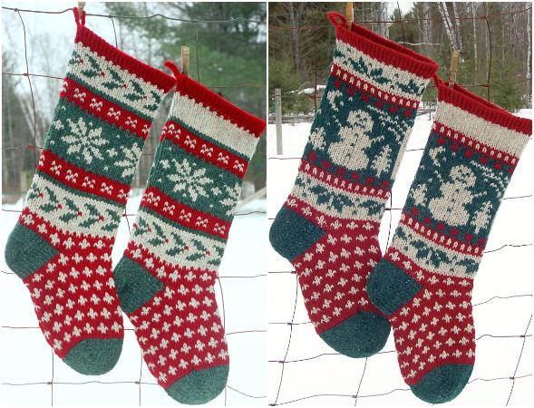 Annie's Woolens Holly & Snowman Kits