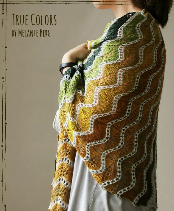 Melanie Berg True Colors Shawl