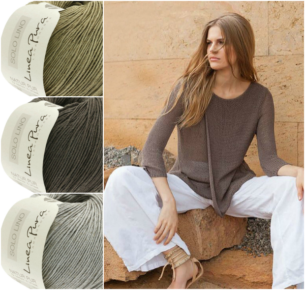 Georgetown Solo Lino Pullover #23